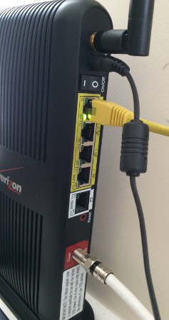 How to connect pcWRT to the Verizon FiOS router – pcWRT